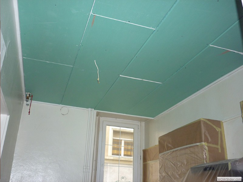 Plafond suspendu